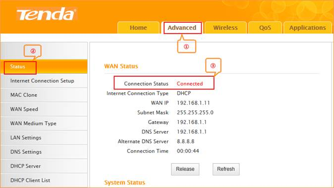 How to configure IP address for your Tenda router