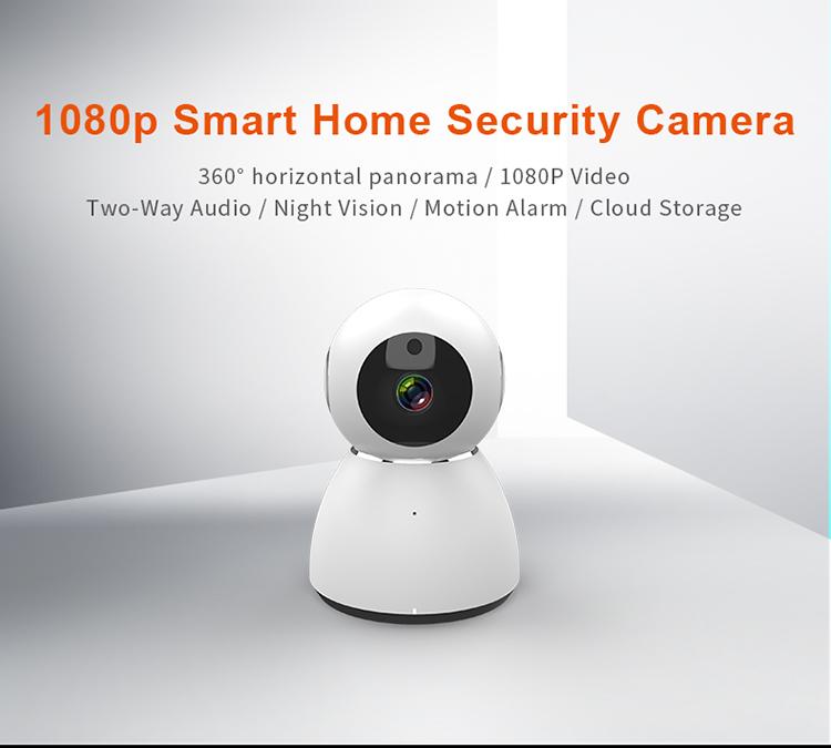 Tenda C80 1080p Full HD Pan & Tilt Wireless Cloud Camera with Night Vision