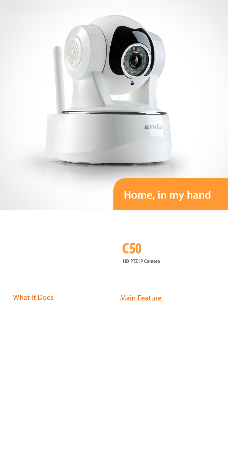 C50 HD PTZ IP Camera