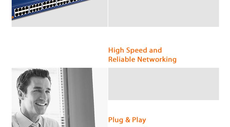 Tenda TEH1048 48-Port 10/100 Switch-Tenda-All For Better NetWorking